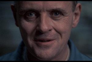 Hannibal Lecter z filmu Mlčanie jahniat.