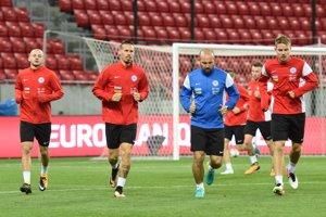Futbalisti Slovenska sa pripravujú na zápas proti Malte.