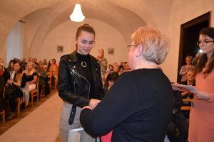Sarah Kovaľová. Trinásťročná Michalovčanka získala cenu v náročnej konkurencii.