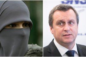 Andrej Danko avizoval zákon, ktorý by zakazoval zahaľovanie tváre na verejnosti.