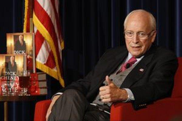 Pravá ruka bývalého prezidenta USA Georgea W. Busha Dick Cheney.