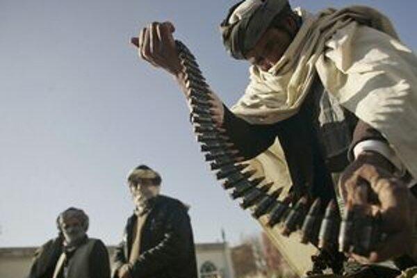 Bojovník Talibanu.