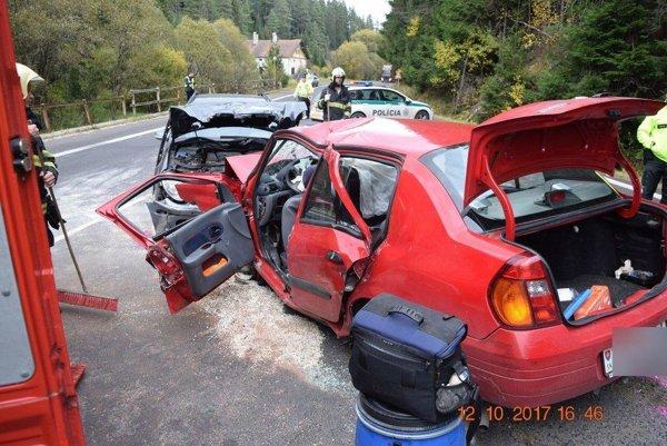 tragickú nehodu žena neprežila.