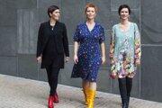 Nórske Trio Mediæval - Anna Maria Friman, Linn Andrea Fuglseth a Berit Opheim.