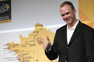 Christopher Froome.