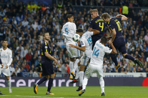 Real Madrid remizoval s Tottenhamom.