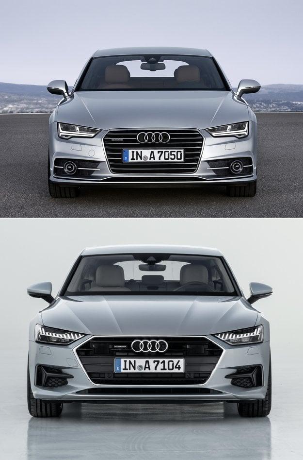 Audi sa opäť vybralo cestou evolúcie, zásadné zmeny oproti predchodcovi nevidno.