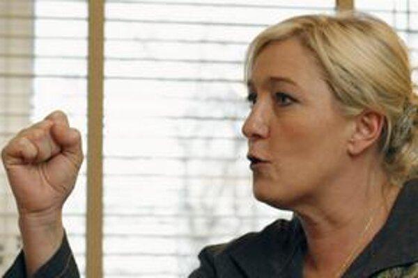 Marine Le Pen sa chce dokonca sama stať prezidentkou.