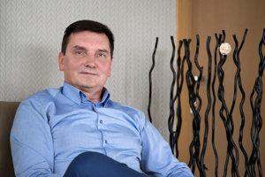 Riaditeľ nemocnice MUDr. Ján Slávik, MBA