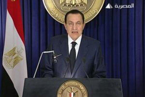 Mubarak po 30 rokoch už kandidovať nebude.