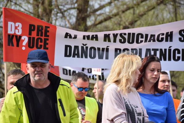 Druhý protest na Kysuciach sa uskutočnil v marci.