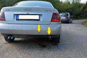 Policajti auto zasiahli piatimi výstrelmi.