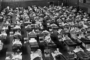 Kým bola dostupná vakcína, tak pandémia Ázijskej chrípky zabila za dva roky približne 70-tisíc ľudí. Začala sa šíriť z Číny, záber z roku 1957 zachytáva karanténu vo Švédsku.