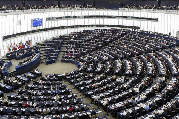 Európsky parlament v Štrasburgu.