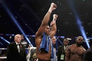 Anthony Joshua je kráľom boxu.
