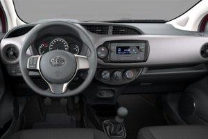 Interiér Toyoty Yaris v základnej výbave.