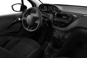 Interiér Peugeotu 208 v základnej výbave za 9 490 eur.