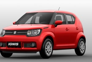Suzuki Ignis s predným náhonom začína pri cene 9 040 eur.