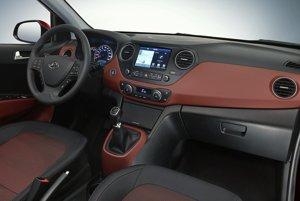 Hyundai oficiálne nezverejnil interiér základnej výbavy i10.