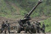 Juhokórejská armáda nacvičuje, ako sa ubrániť prípadnému útoku zo severu.