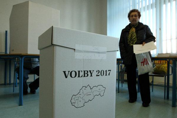 Voľby do VUC 2017 v Banskej Bystrici.