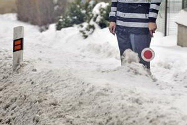 Zima trápi suedné Česko.