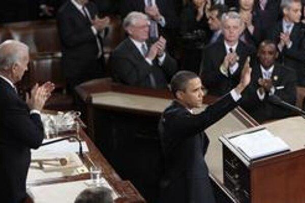 Prezident Obama sa v Kongrese opäť predviedol ako zdatný rečník. Snažil sa získať späť sympatie voličov.