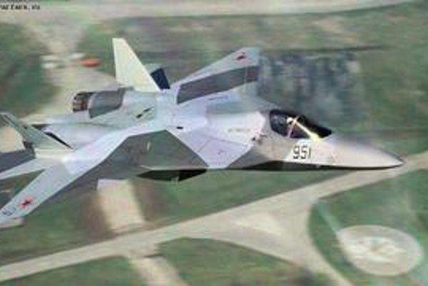 Ruská armáda dúfa, že neviditeľný T-50 bude výzvou pre americkú stíhačku F-22 Raptor.