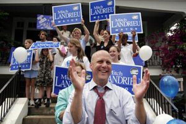 Vo voľbách v roku 2006 Landrieu neuspel, teraz áno.