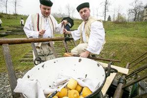 Ku salašu patria aj výrobky zo syra.