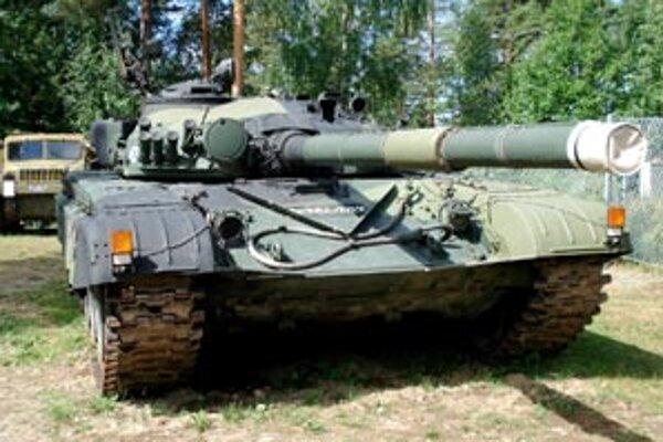 Ruský tank T-72 má svoje najlepšie časy už za sebou.