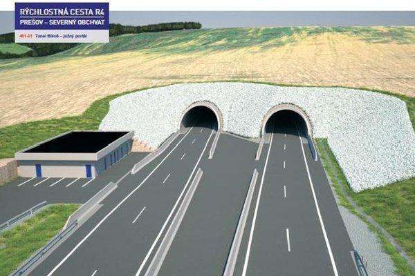 Súčasťou prvého úseku stavby má byť aj tunel Bikoš.