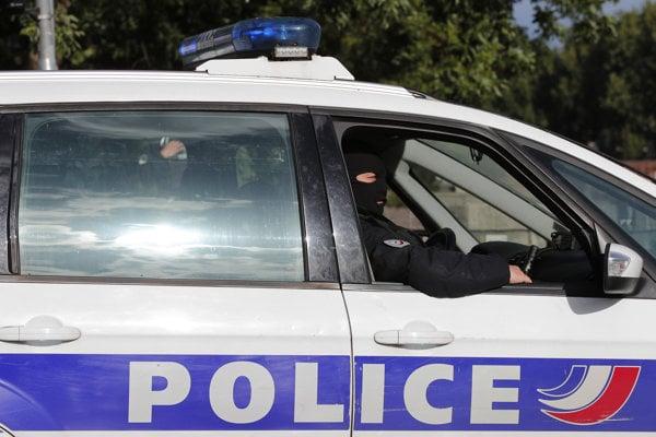 Zásah francúzskej polície, Ilustračné foto
