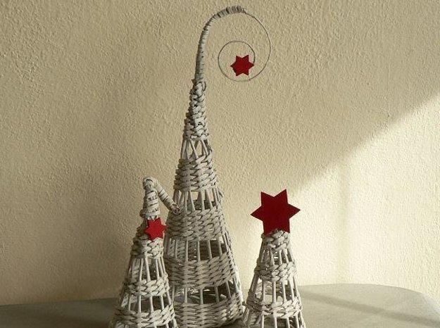 Tvar vianočného stromčeka si môžete vybrať.