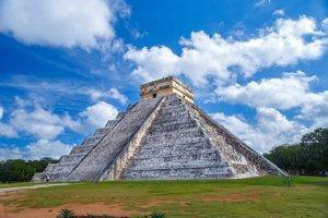 Chichen Itzá v Mexiku