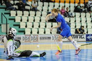 Denisa Ferenčíková patrí v slovenskej reprezentácii medzi najskúsenejšie hráčky.