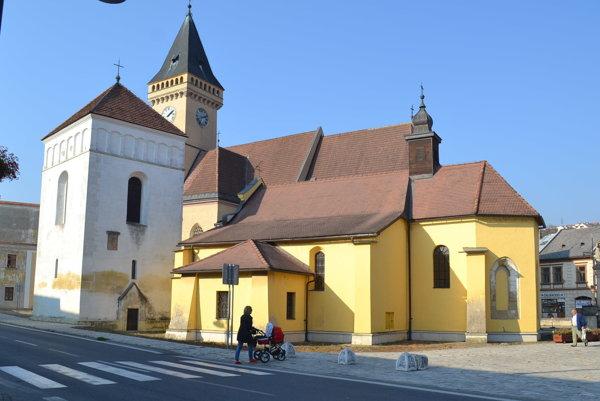 Sabinov. Podľa hlasovania je to 8. najkrajšie mesto Slovenska.
