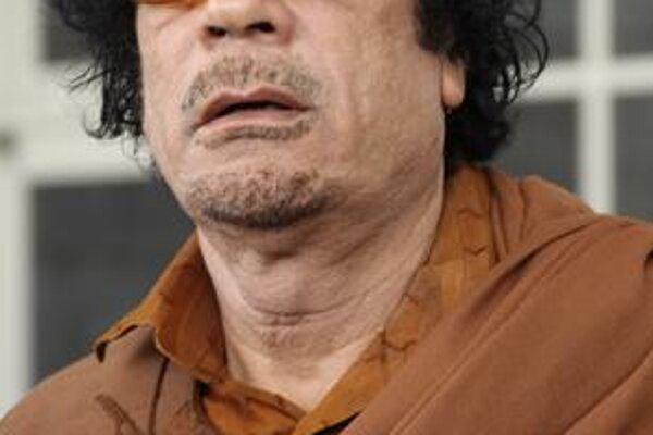 Muammar Kaddáfi.