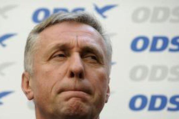 Rezignovaný premiér Mirek Topolánek.