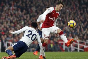 Alexis Sanchez strelil druhý gól Arsenalu.