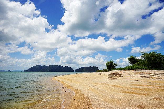 Krabi je typickou plážovou destináciou Thajska.