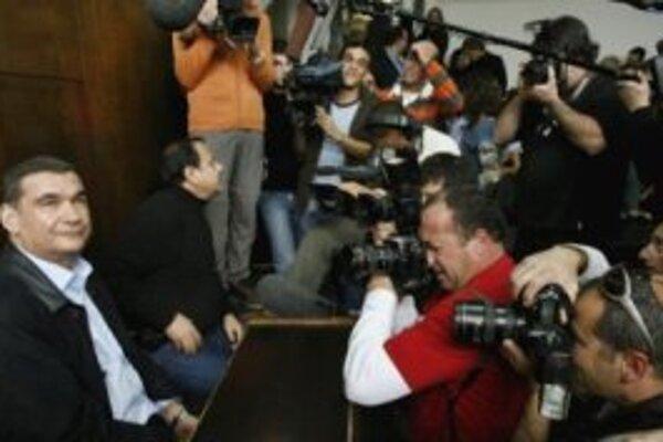 Chaim Ramon na súde.