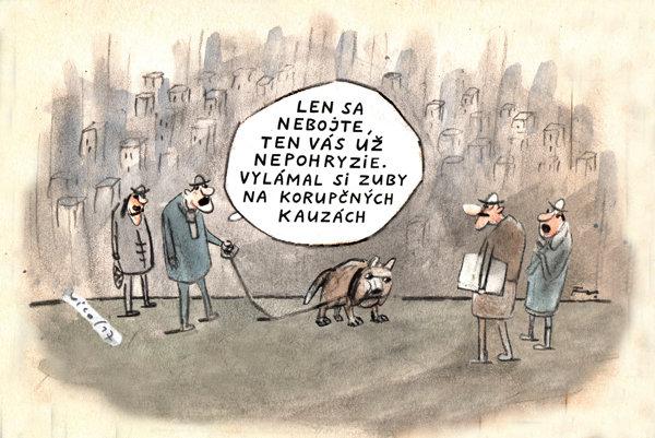 Pes, čo nehryzie (Vico)