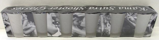 Kama Sutra Shooter Glasses, šarža: 4029811214686, pôvod Čína.