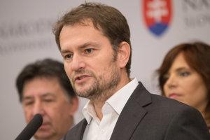 Ján Budaj, Igor Matovič a Veronika Remišová.
