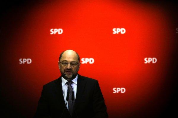 Odchádzajúci líder Sociálnodemokratickej strany Nemecka (SPD) Martin Schulz.