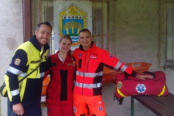 Mirka Sadleková pôsobí v Dobrovoľnom hasičskom zbore v Korni.