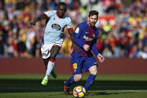 Lionel Messi dal gól. Na víťazstvo však nestačil.