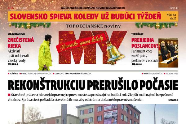 4c60db0d6 MY Topoľčianske noviny Dnešok už vyšli - SME | MY Topoľčany