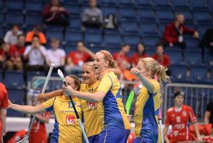 Švédky postúpili do finále MS vo florbale žien.